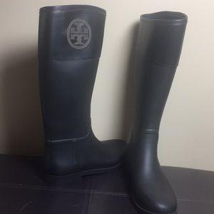 Tory Burch Rain Boots Size 11B